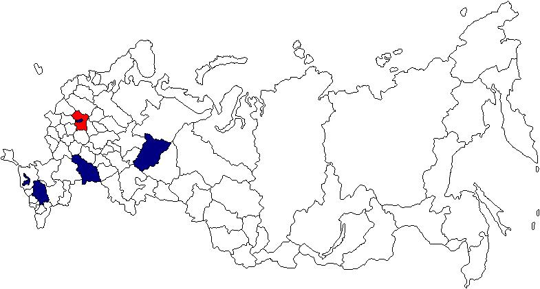 Представительства ПрофиТБ в России