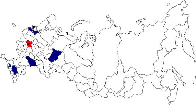 """Офисы и представительства ООО """"ПрофиТБ"""" в регионах"""